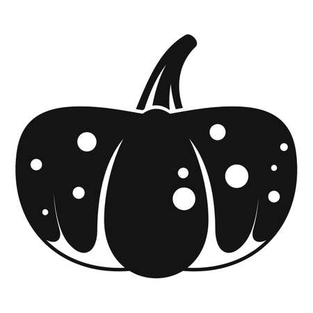 Collection pumpkin icon, simple style