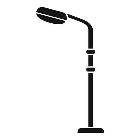 Light street pillar icon, simple style Stock fotó