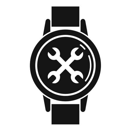 Handwatch repair icon, simple style
