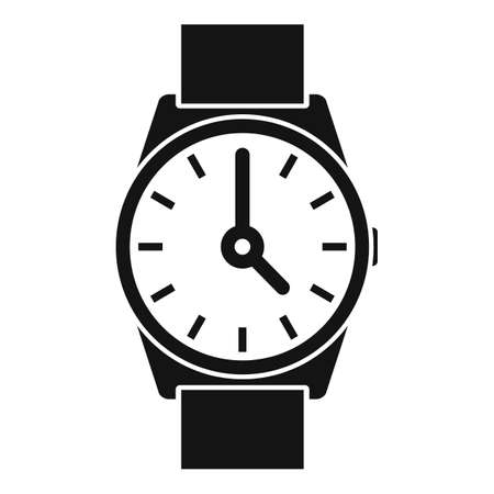 Hand watch repair icon, simple style