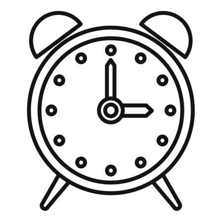 Alarm clock repair icon, outline style