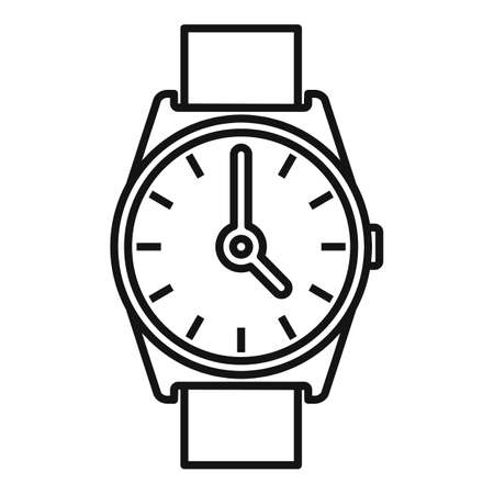 Hand watch repair icon, outline style
