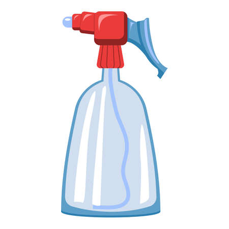 Farming spray bottle icon, cartoon style Stockfoto