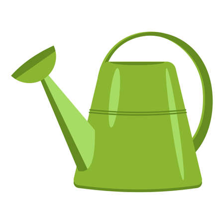 Garden watering can icon, cartoon style Stockfoto