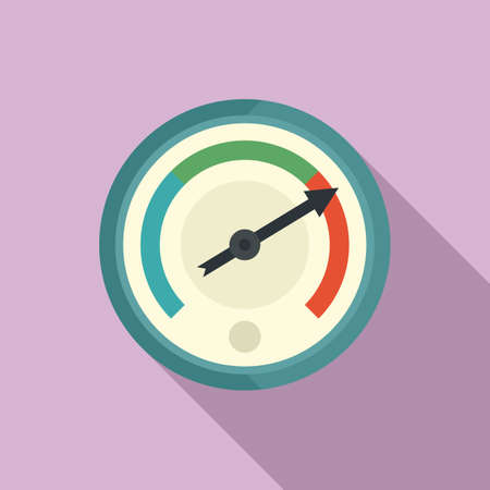 Change barometer icon, flat style