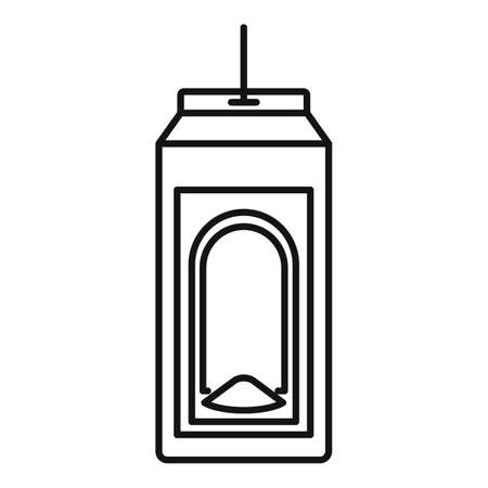 Paper bird feeders icon, outline style