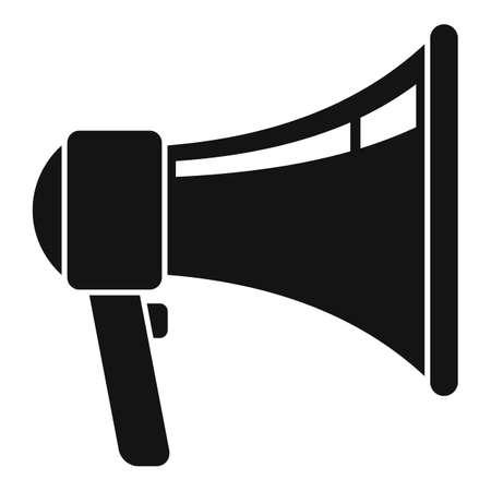 Studio megaphone icon, simple style