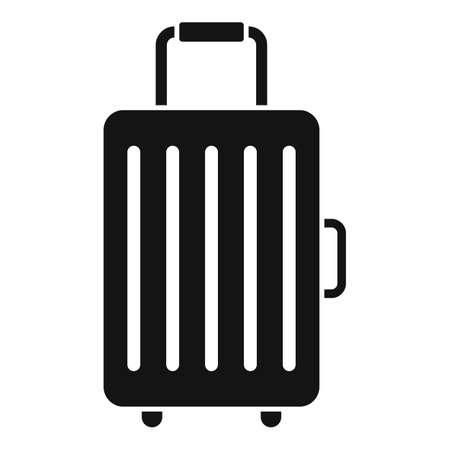Travel baggage icon, simple style Vector Illustratie