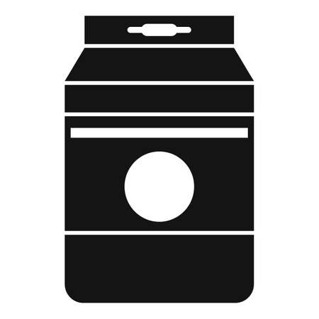 Agriculture compost icon, simple style