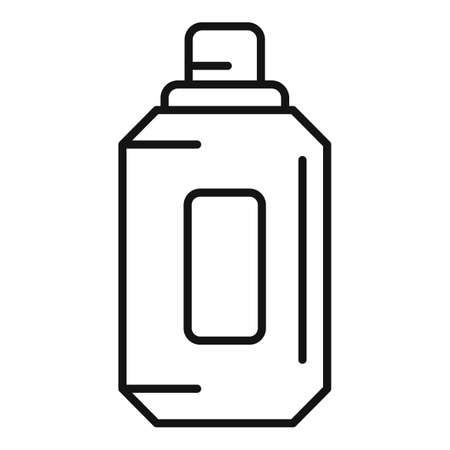 Compost liquid icon, outline style