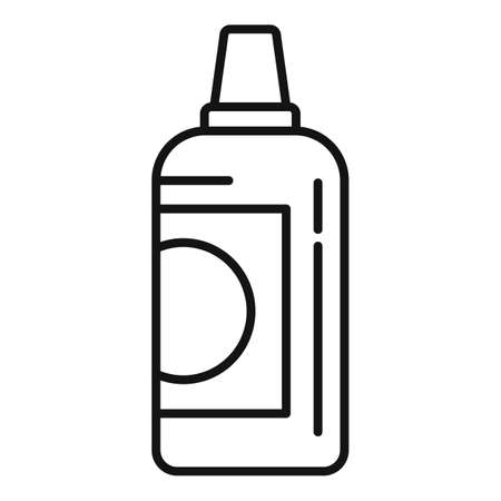Mineral fertilizer icon, outline style