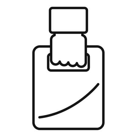 Bag home delivery icon, outline style