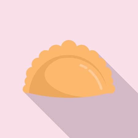 Bake product icon, flat style