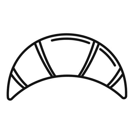 Bakery food icon, outline style