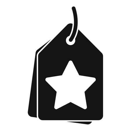 Sale bonus tag icon, simple style
