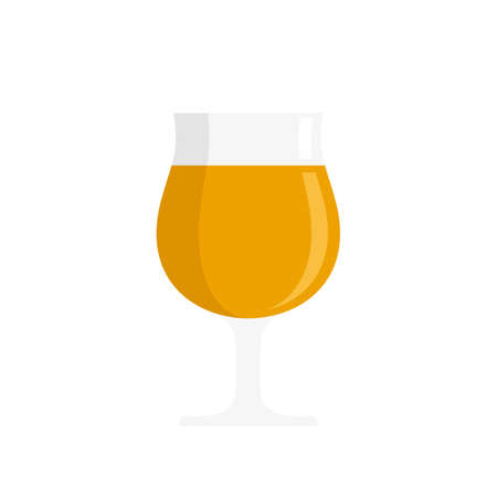 Swiss beer icon flat isolated vector
