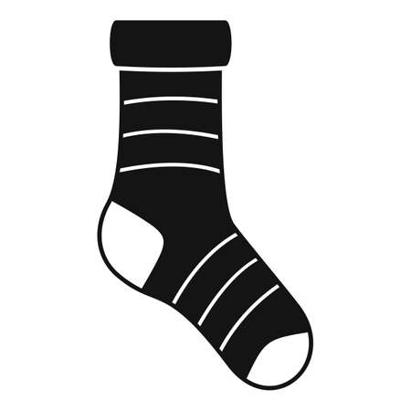 Ankle sock icon simple vector. Sport ankle sock