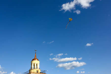 NIZHNY TAGIL. RUSSIA -August 09, 2015: The historic center of Nizhny Tagil. City with a population of 500 000 inhabitants