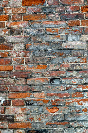 Red brick wall texture background. Old brick wall texture.