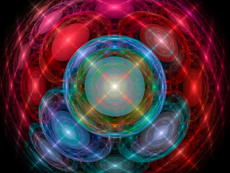 Abstract fractal color texture. Digital art.