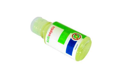Coronavirus prevention antiseptic alcohol-based hand rub.