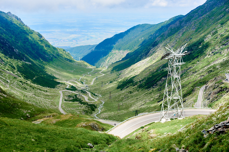 Transfagarasan highway, probably the most beautiful road in the world, Europe, Romania, Transfagarashan
