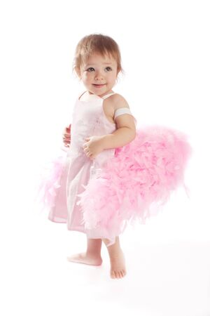 Little angel, isolated Stock Photo - 3994216
