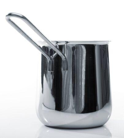 cezve: Steel coffee cezve