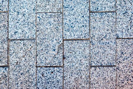 Marble pavement texture photo