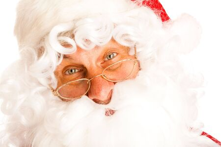 Portrait of Santa Claus,isolated Stock Photo - 5723769