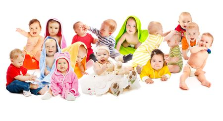 Lovely babies group photo