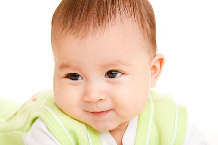 Cute Hispanic baby photo