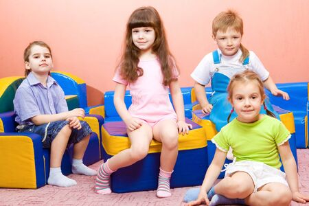 Sweet preschool kids Stock Photo - 7020855
