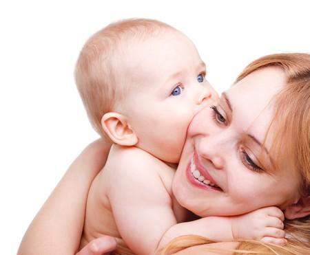 baby angel: Baby Angelico baciare la sua madre