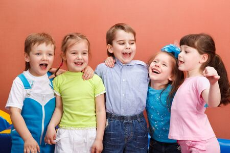 Preschool friends  Stock Photo - 7918684