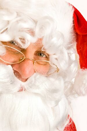 Closeup portrait of Santa Claus Stock Photo - 7918689