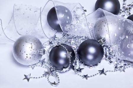 Purple Christmas decoration photo