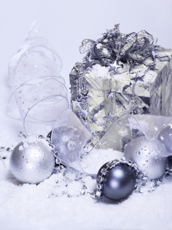 Present box and other Christmas accessories