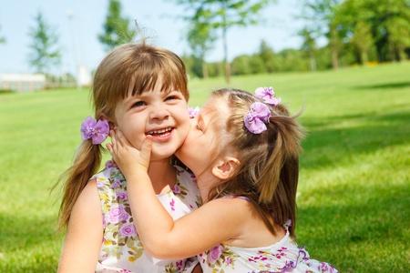 Lovely little sisters