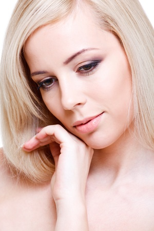 Portrait of a fresh tender young woman Stock Photo - 9330601