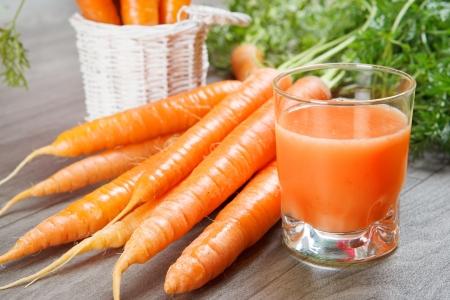 haulm: Fresh carrot juice for breakfast