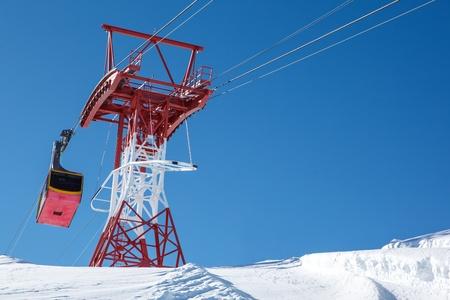 kitzsteinhorn: Aerial tram in Austrian Alps