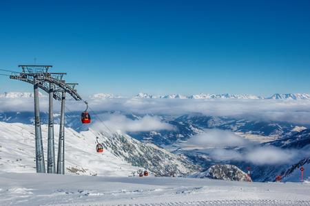 kitzsteinhorn: Skiing resort in the Alps