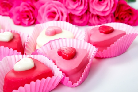 Sweet hearts - symbol of Valentine photo