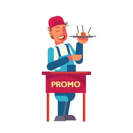 Voedsel promotie ontwerpconcept. Stockfoto - 88127443