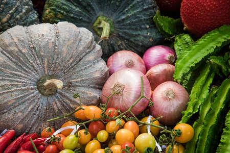 pumkin: Onions Pumkin and mix vegetables