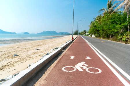 ocea: bike lane at coast