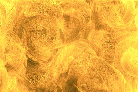 Abstract Golden or Yellow Color Texture