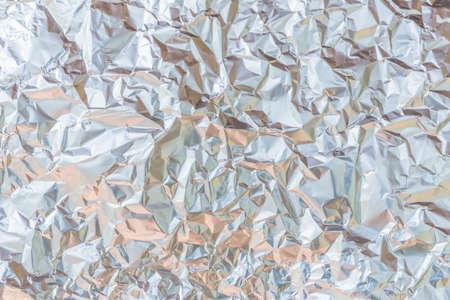 Aluminium foil texture Stock Photo