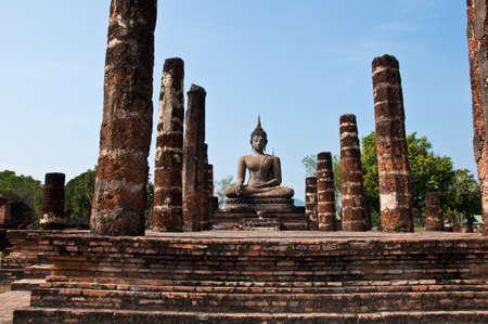 wat mahatat sukhothai history park photo
